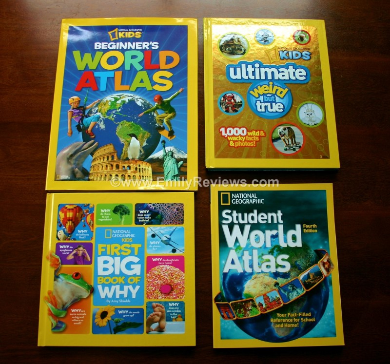 National Geographics Amazing Kids Books ~ Review | Emily Reviews