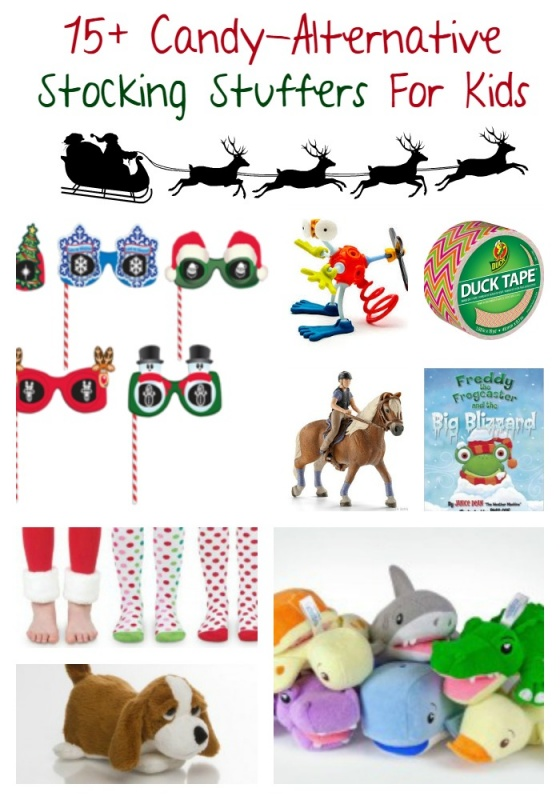 Stocking Stuffers For Kids that are NOT candy. Some fun stuff that they'll really use.