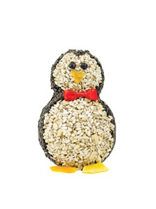Wild Birds Unlimited penguin seed cylinder $18.99 cute gift idea for gardeners or bird lovers