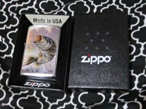 Bass Zippo Lighter