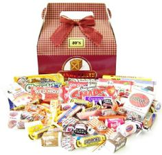 candy crates $22 boxes full of candy from a set decade (1940-1990 available)