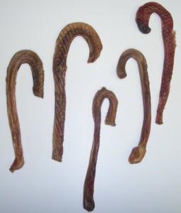Jones Natural Chews dog candy cane bully sticks