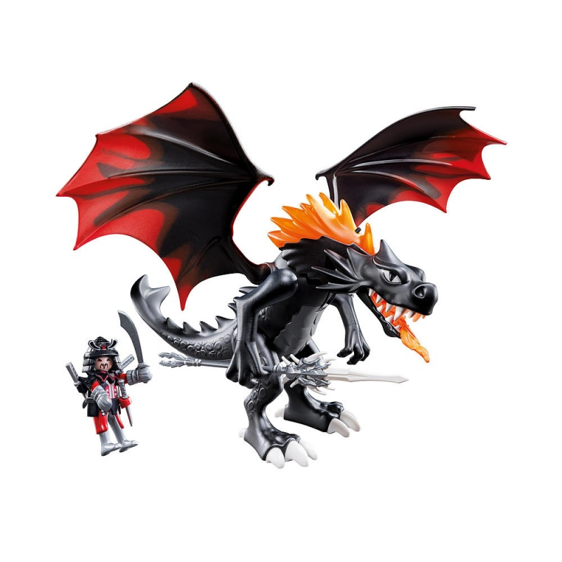 playmobil giant battle dragon