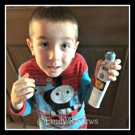 EXERGEN SmartGlow Temporal Artery Thermometer Review & Giveaway (US) 3/22