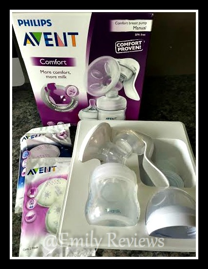 Philips AVENT Comfort Manual Breast Pump Review & Giveaway (US) 4/12