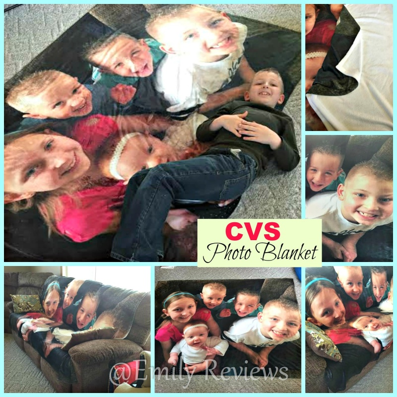 CVS Pharmacy Photo Blanket & Personalized Photo Card ~ Perfect Gift For Mom! #Discount