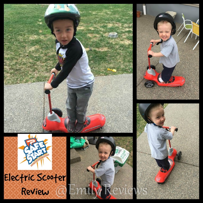 Pulse Performance ~ Safe Start Electric 3 Wheel Scooter ~ Spring Fun!