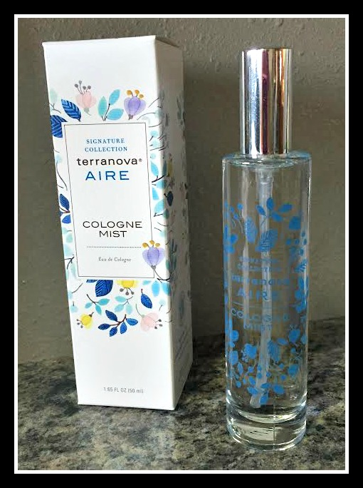 TerraNova Body AIRE Cologne Mist ~ Mother's Day Gift! #Giveaway (US) 4/20
