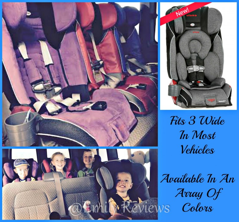 Diono ADiono Radian RXT Convertible Car Seat Birth To Booster Infant
