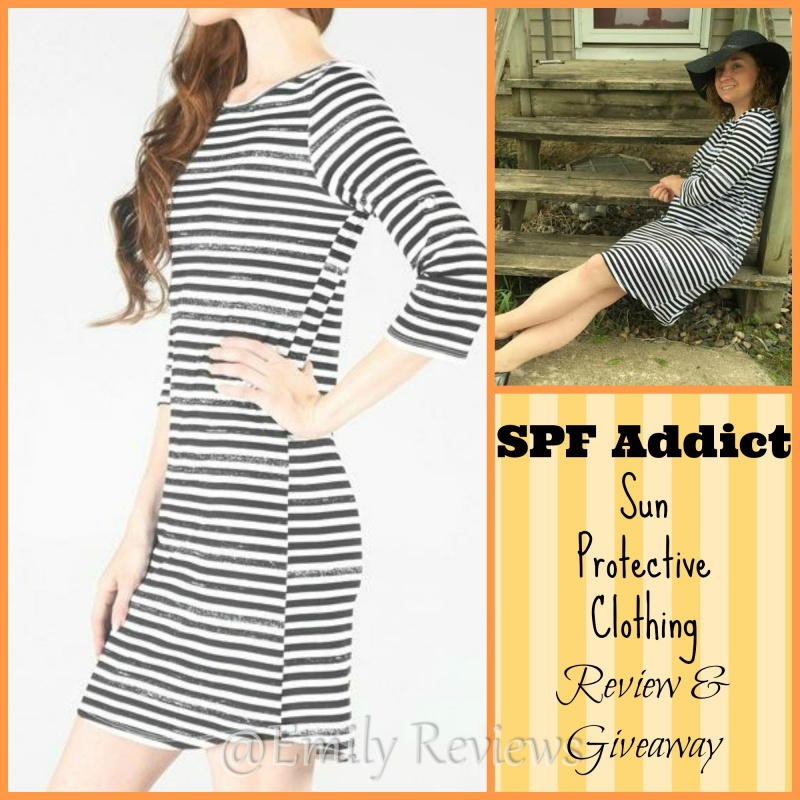 SPF Addict Donna's Perfect Dress ~National Cancer Awareness Month~ #Giveaway (US & Canada) 6/13  Sun Protection, Sun protective clothing, Donna's Perfect Dress