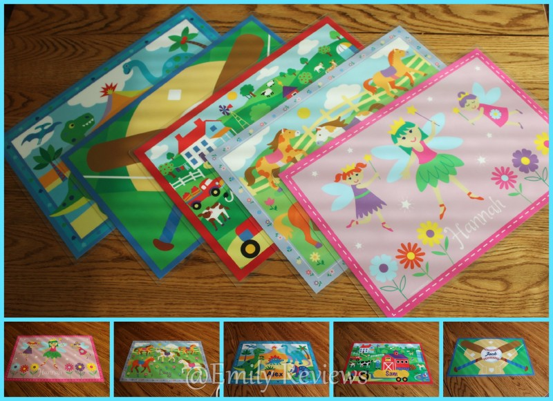 Art Appeel Personalized Placemats Review Amp Giveaway