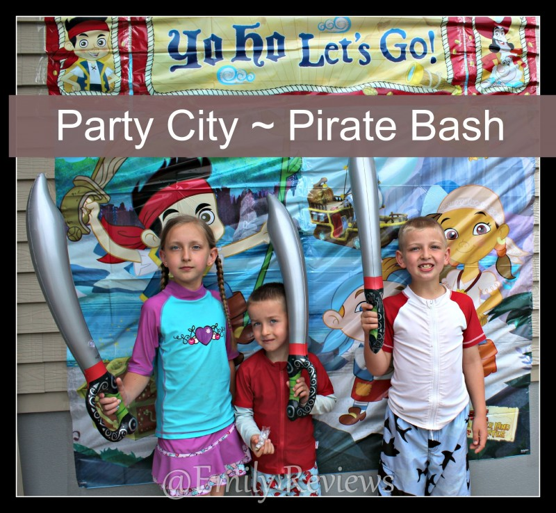 Party City ~ Pirate Birthday Bash ~ Success!