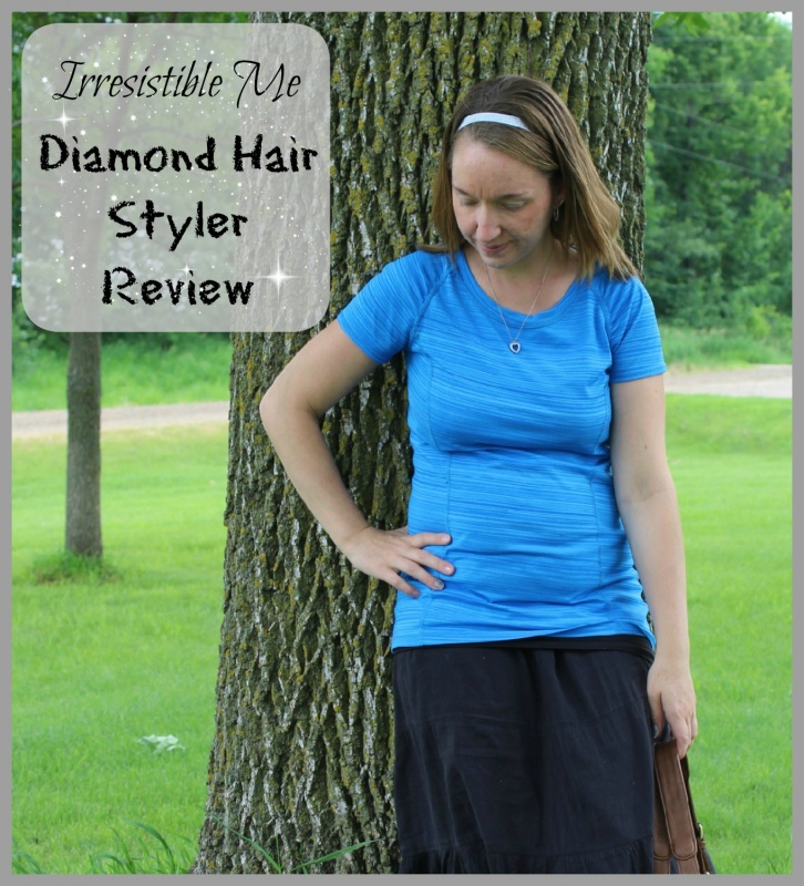 Irresistible Me ~ Diamond Hair Styler ~ Must Have Straightener! Flat Iron, Top of the line. Works Amazing!