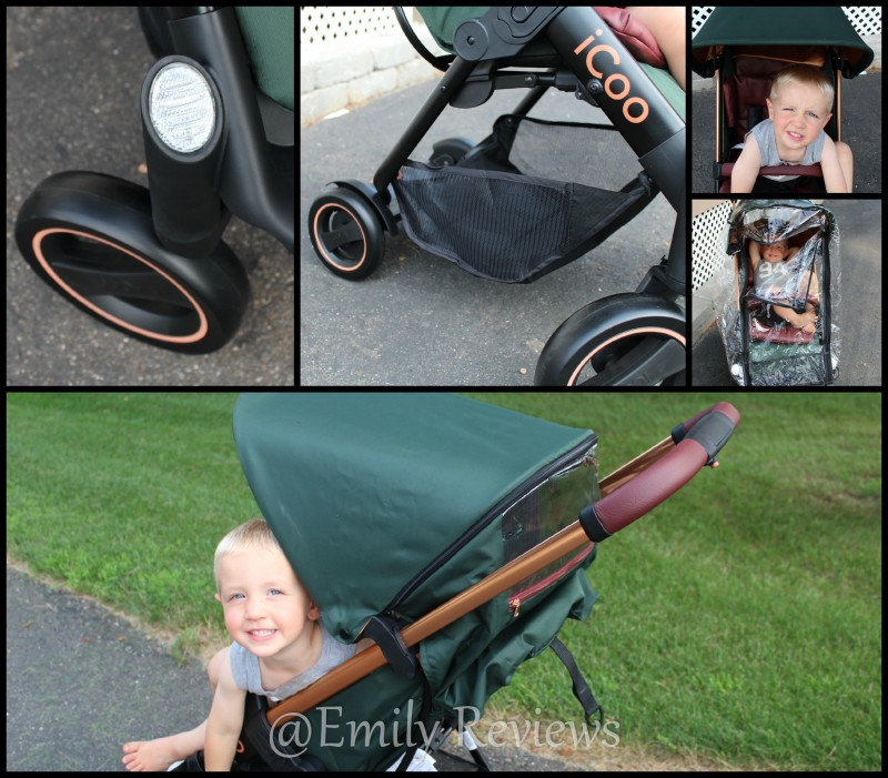 iCoo ~ Acrobat stroller + New iGuard35 Infant Car Seat Review & Giveaway