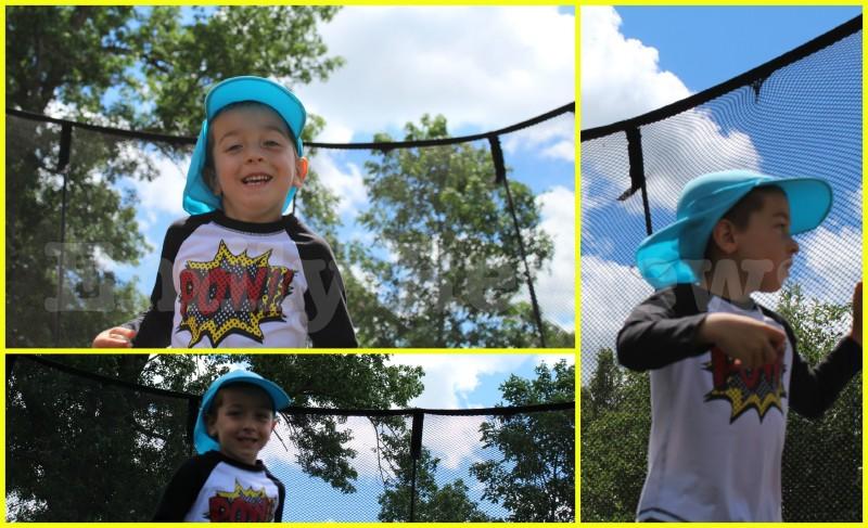 Wordless Wednesday ~ SunWay UV Legionnaire Hat ~ Summer Fun