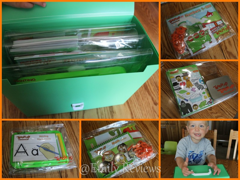 Teach My Preschooler Deluxe Time Learning Kits Giveaway Us