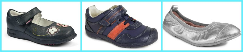 pediped ~ Cool Shoes For Back To School + Giveaway (US & Canada) 8/25, flex adrian chocolate brown tan color, velcro closure