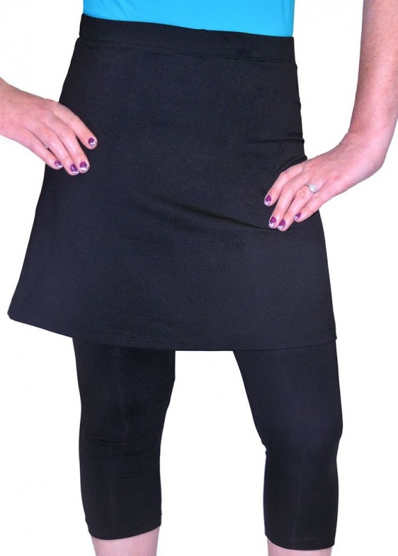 Modli Mid Thigh Length Exercise Amp Swim Skirt With