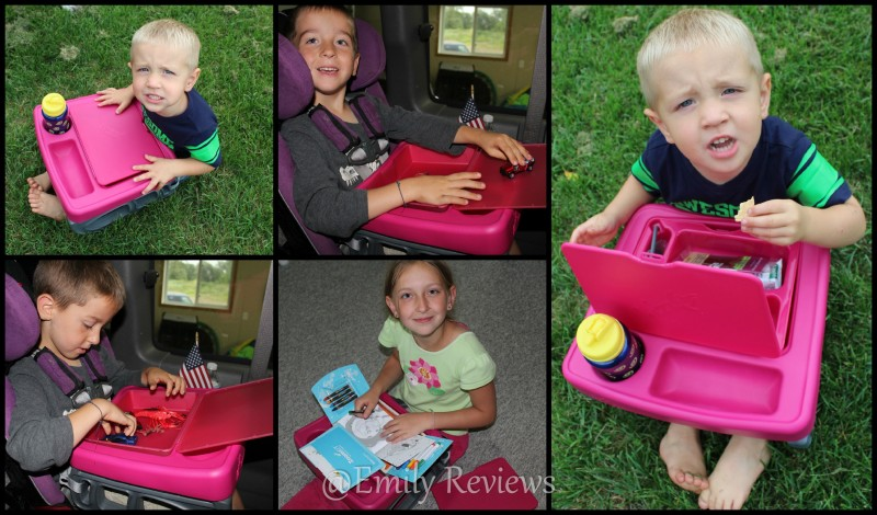 ZoomKIT ~ Kid\'s Portable Table & Activity Center | Emily Reviews