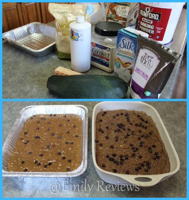 AcuRite Digital Timer ~ Chocolate Chip Zucchini Cake Recipe + Giveaway (US & Canada) 8/23, Trim Healthy Mama, THM, Baking, Cake, Dessert, S