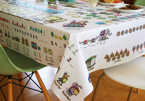 Table Time Look & Learn Educational Tablecloth ~ Giveaway (US)