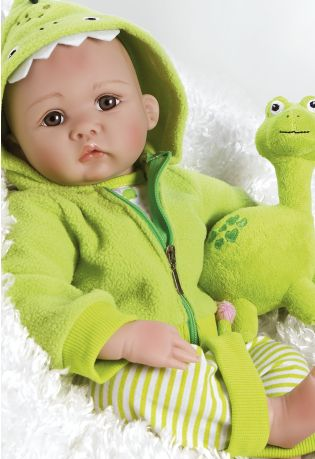 Paradise Galleries ~ My Little Dino & Rex ~ By Gaby Jaques, newborn and premie baby dolls