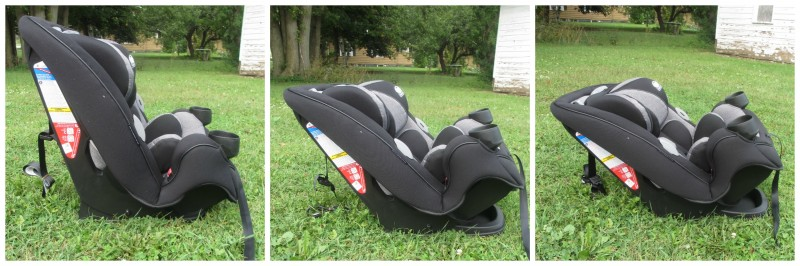 Safety 1st Grow And Go 3 In 1 Car Seat Recline Levels