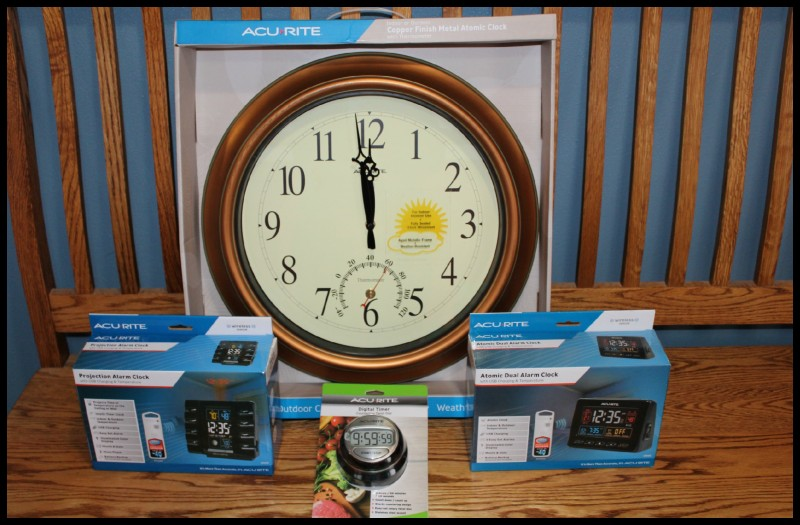 84e49340df2 AcuRite ~ Clocks