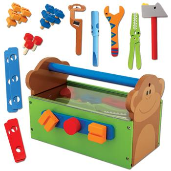 Stephen Joseph Wooden Animal Tool Set