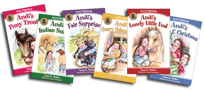 Circle C Adventures Beginnings Wholesome Chapter Books would make a great stocking stuffer for girls ages 6 to 9 and up!