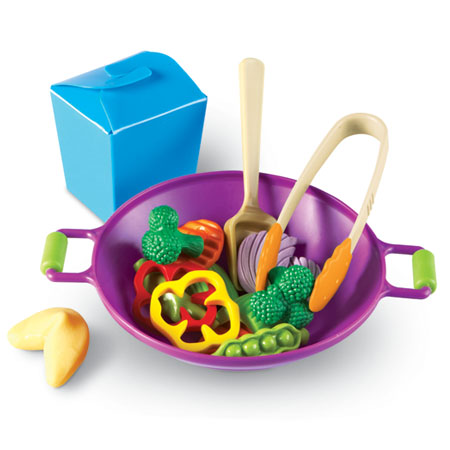 Learning Resources Stir Fry Play Food Cook Set
