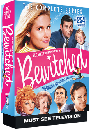 Mill Creek Entertainment's Bewitched The Entire Series now on DVD.