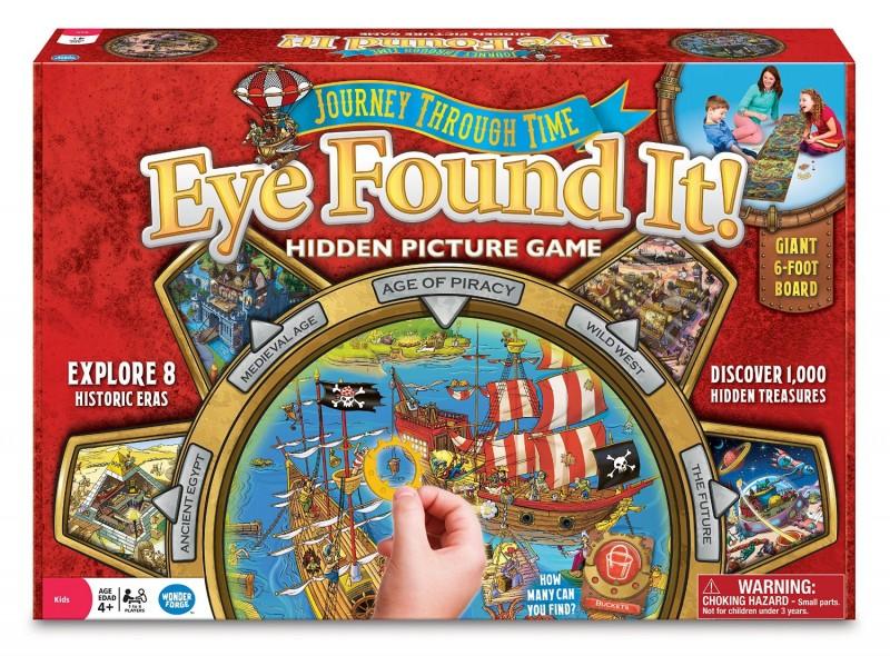 WonderForge Eye Found It Journey Through Time Hidden Picture Game