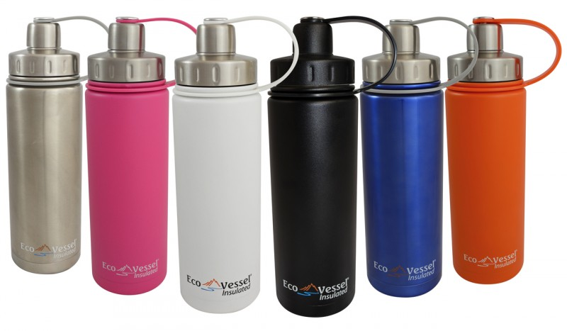 Eco Vessel Boulder Insulated 20 ounce water bottle