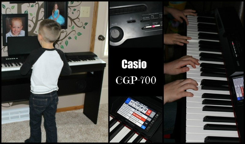 Casio CGP-700 Compact Grand Piano Electric With Weighted Keys