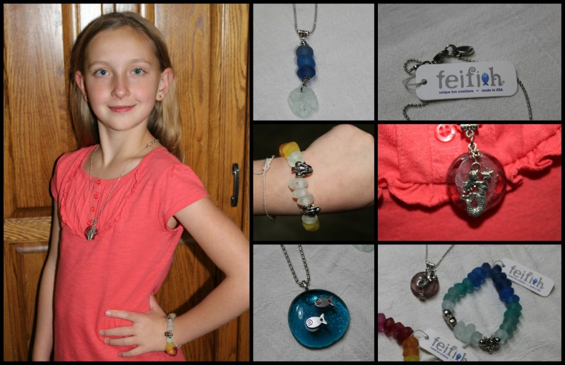 Feifish Jewelry Necklaces, Bracelets, Sea Life Inspired