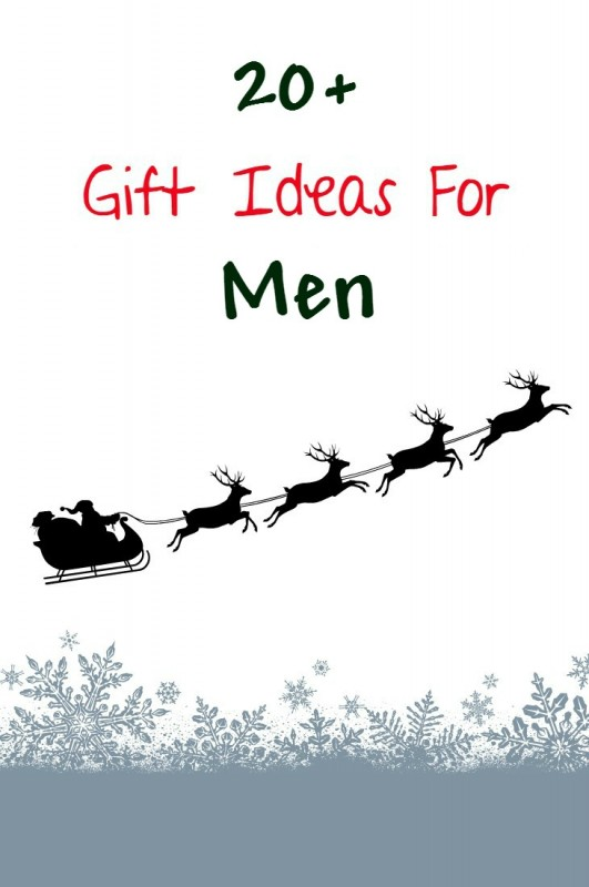 20+ gift ideas for men for christmas, birthday, anniversary and more. Find the perfect gift idea for your husband, boyfriend, dad, grandpa and more.