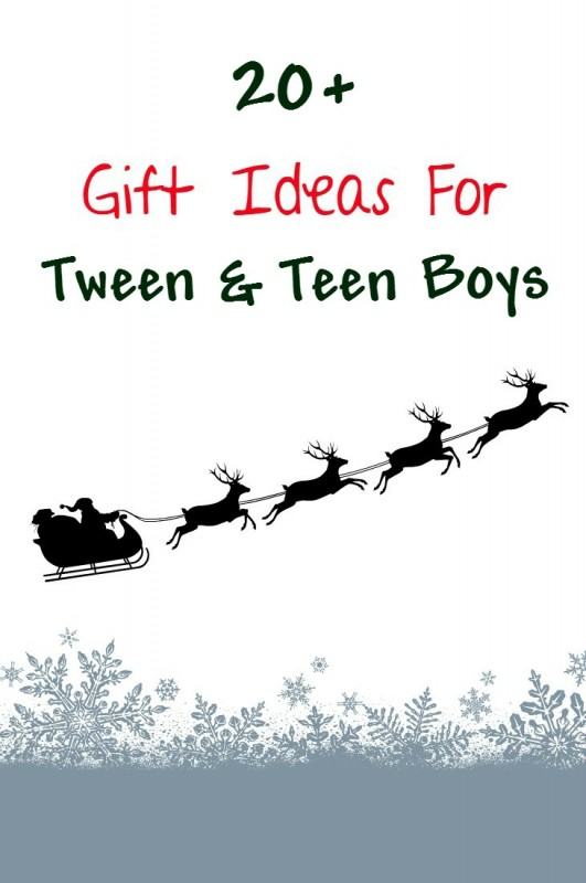 Finding a cool and unique gift idea for a teen or tween boy can be tough. Here are 20+ preteen and teenager gift ideas for christmas a birthday or any occasion.