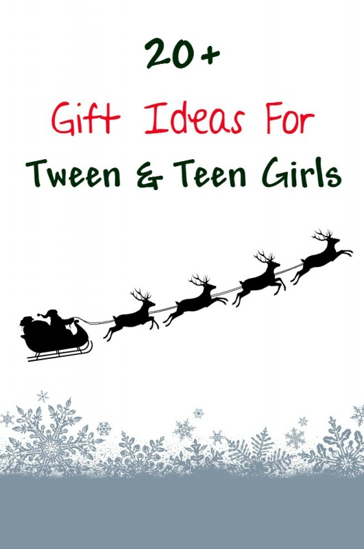 Teenage girls are tough to shop for! 20+ Cool, cute and unique gift ideas for tween and teen girls for christmas or birthday including ideas under $10.