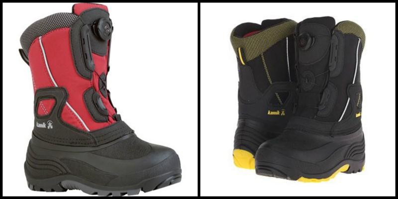 Kamik BACKWOOD & SNOWJOY Boys Winter Boots