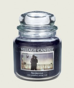 Village Candle MGG STOCK IMAGE