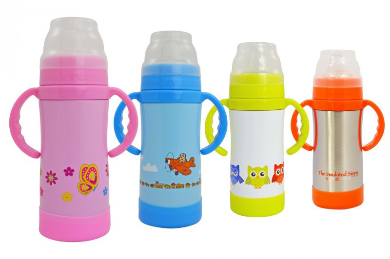 Eco Vessel 10 ounce Stainless Steel Sippy Bottle Cup
