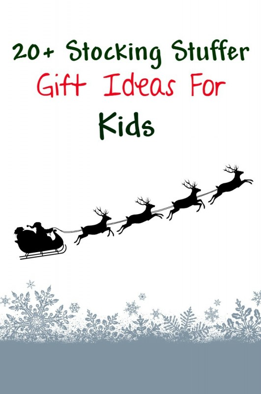 Stocking stuffer gift ideas for boys and girls - something for all kids. Lots of christmas ideas for children that don't include candy.