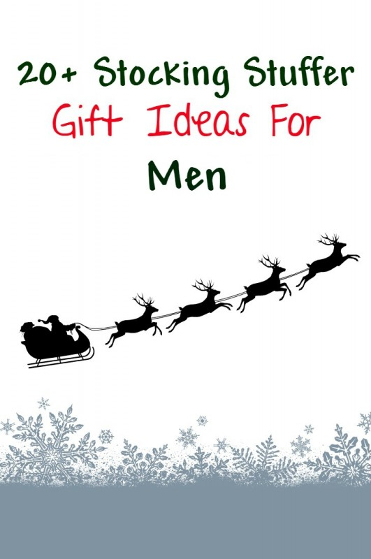 stocking stuffer gift ideas for men - dads boyfriends husband - stuff any male would like.