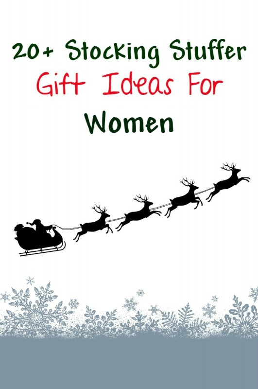 Stocking stuffer christmas gift ideas for women