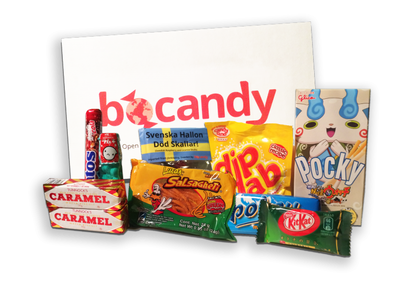 bocandy foreign candy subscription box