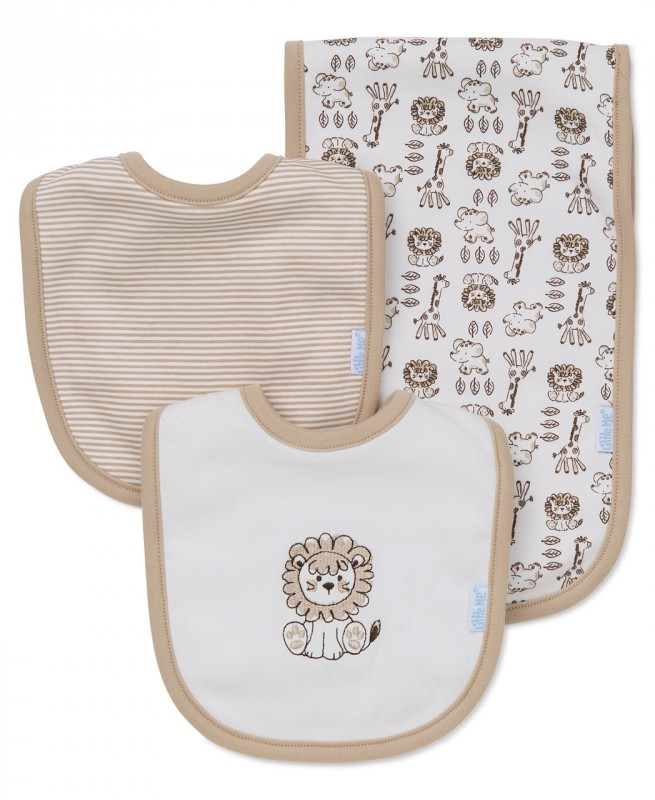 LittleMe Bip and burp cloth set