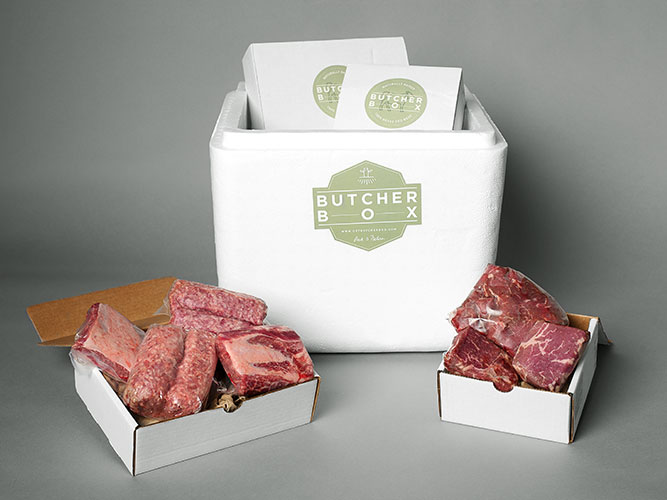 butcher box 100% grassfed subscription box