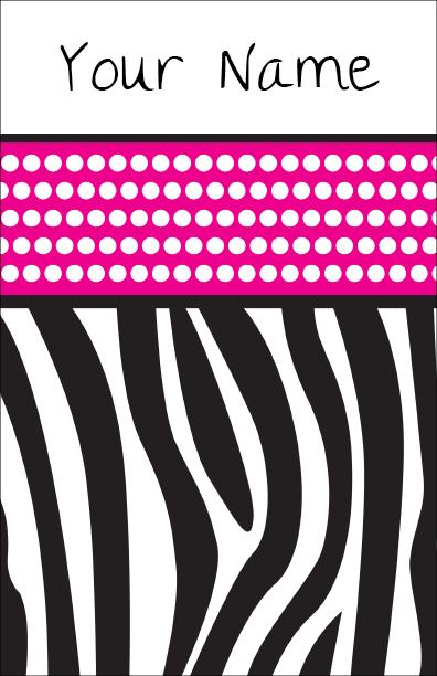 Gotcha covered pink zebra