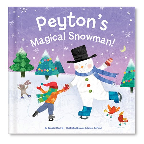 I See Me personalized snowman book